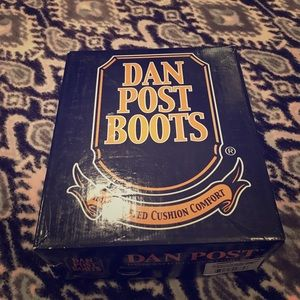 Dan post kids cowboy boots